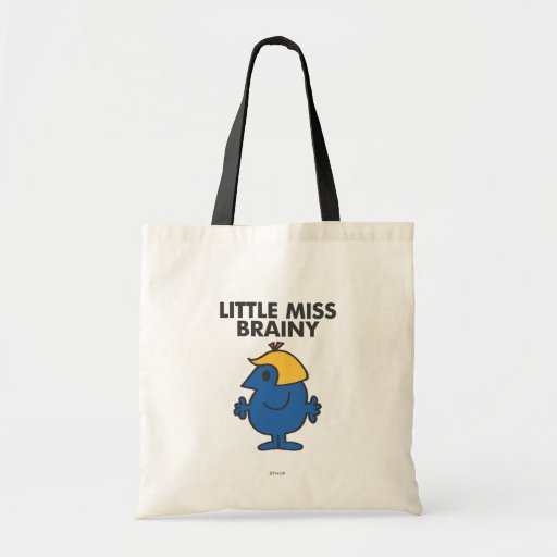 Little Miss Brainy Standing Still Budget Tote Bag