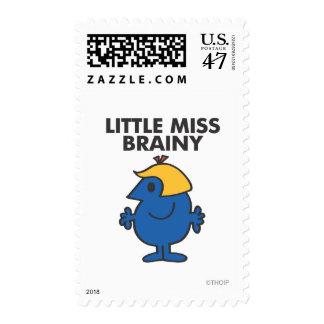 Little Miss Brainy Standing Still Postage