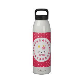 Little Miss Bunny Reusable Water Bottles