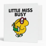 Little Miss Busy Classic Binder