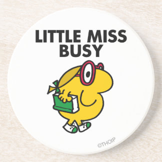 Little Miss Busy Classic Drink Coasters