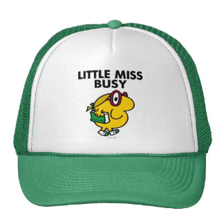 Little Miss Busy Classic Mesh Hats