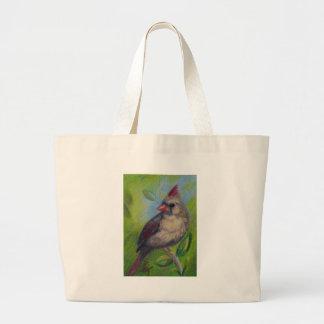 Little Miss Cardinal aceo Bag