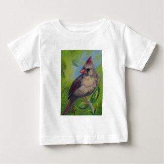 Little Miss Cardinal aceo Infant T-shirt