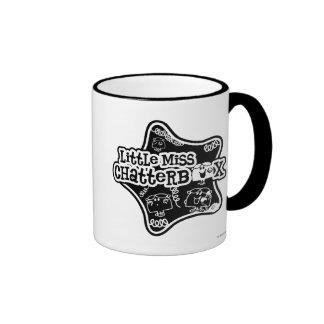 Little Miss Chatterbox Block Mug