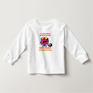 Little Miss Chatterbox Christmas Wish List Toddler T-shirt