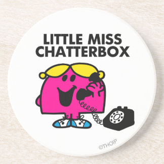 Little Miss Chatterbox Classic 2 Coaster