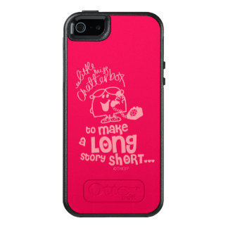Little Miss Chatterbox   Long Story Short OtterBox iPhone 5/5s/SE Case