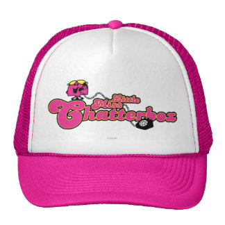 Little Miss Chatterbox | Long Telephone Cord Trucker Hat