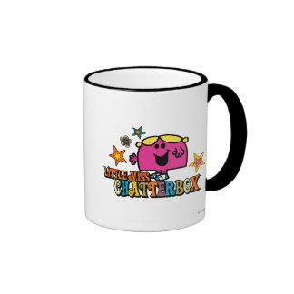 Little Miss Chatterbox Stars Coffee Mug