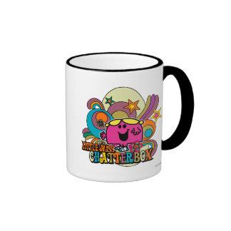 Little Miss Chatterbox Swirl Coffee Mug