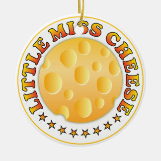 Little Miss Cheese Ornaments