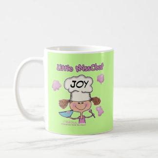 Little Miss Chef Personalize Classic White Coffee Mug