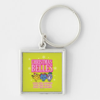 Little Miss Christmas Belles Keychain