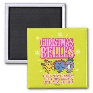 Little Miss Christmas Belles Magnet