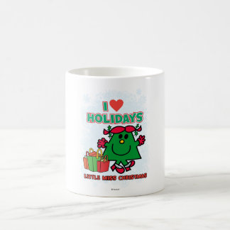 Little Miss Christmas | I Love Holidays Coffee Mug