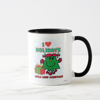 Little Miss Christmas | I Love Holidays Mug