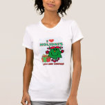 Little Miss Christmas - I Love Holidays Tee Shirt