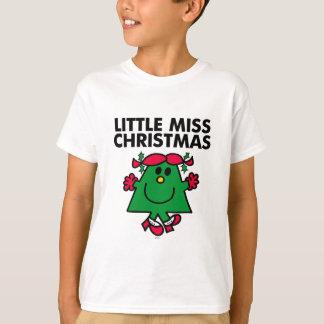 Little Miss Christmas Smile T-Shirt
