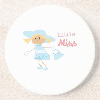 Little Miss Beverage Coasters