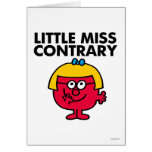 Little Miss Contrary Card