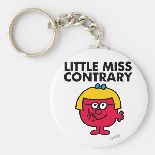 Little Miss Contrary Keychain