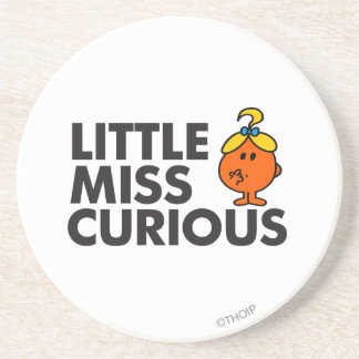 Little Miss Curious Classic Coasters