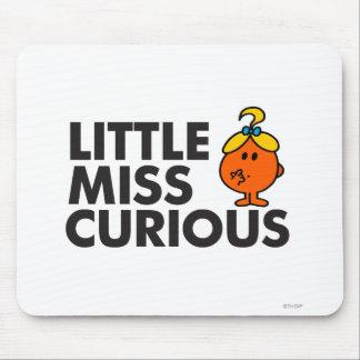 Little Miss Curious Classic Mousepad