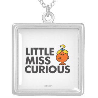 Little Miss Curious Classic Pendant