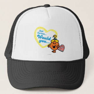 Little Miss Curious Valentine's Day Wish Trucker Hat