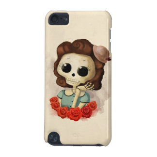 Little Miss Death and Roses iPod Touch (5th Generation) Case