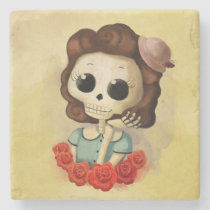 artsprojekt, skeleton, pin up girl, halloween, halloween gift, emo gift, cute halloween, skull, halloween girl, skeleton gift, halloween illustration, halloween idea, trick or treat, halloween design, halloween pin up, skeleton girl, halloween present, emo present, cute skeleton, skeleton present, vintage halloween, skeleton pin up, pin up, [[missing key: type_giftstone_coaste]] com design gráfico personalizado