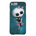 Little Miss Death - Halloween Beauty Barely There iPhone 6 Case