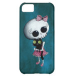 Little Miss Death - Halloween Beauty iPhone 5C Covers