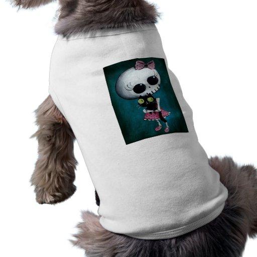 Little Miss Death - Halloween Beauty Dog Shirt