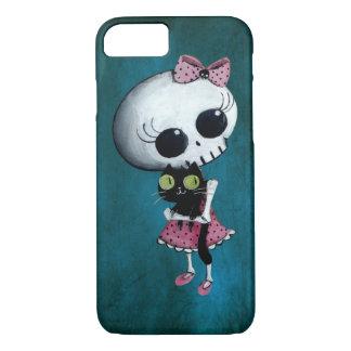 Little Miss Death - Halloween Beauty iPhone 7 Case