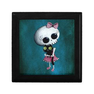 Little Miss Death - Halloween Beauty Keepsake Box