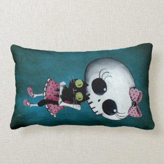 Little Miss Death - Halloween Beauty Pillows