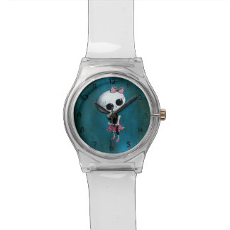 Little Miss Death - Halloween Beauty Wrist Watch