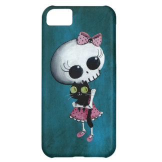 Little Miss Death - Hallowen Beauty iPhone 5C Covers