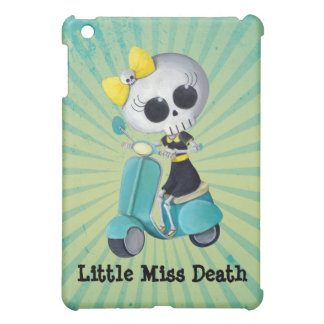 Little Miss Death on Scooter Case For The iPad Mini