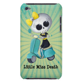 Little Miss Death on Scooter Case-Mate iPod Touch Case