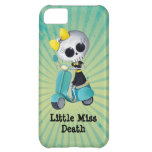 Little Miss Death on Scooter iPhone 5C Cover