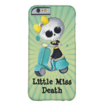 Little Miss Death on Scooter iPhone 6 Case