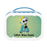Little Miss Death on Scooter Lunch Boxes