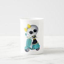 artsprojekt, cute skeleton, emo gift, skeleton, scooter, cute skull, scooter gift, skull, halloween, emo, vespa, lambretta, skeleton scooter, scooter rally, modette, emo illustration, cute, dead girl, mod, skeleton girl, scooter girl, scooter present, skeleton gift, skeleton present, emo present, [[missing key: type_specialtymu]] with custom graphic design