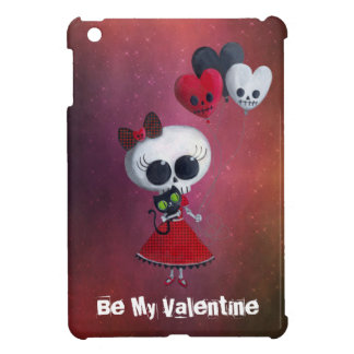 Little Miss Death Valentine Case For The iPad Mini