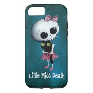 Little Miss Death with Black Cat iPhone 7 Case