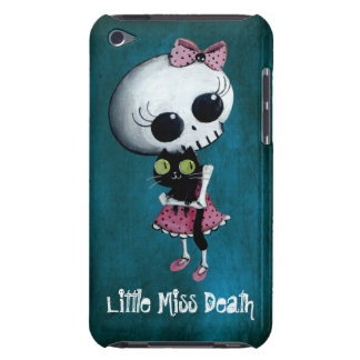 Little Miss Death with Black Cat iPod Touch Case-Mate Case