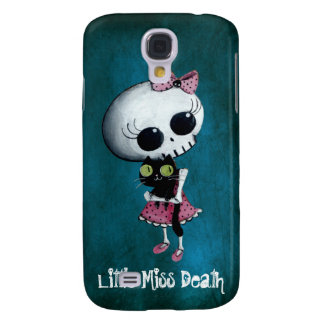 Little Miss Death with Black Cat Samsung S4 Case